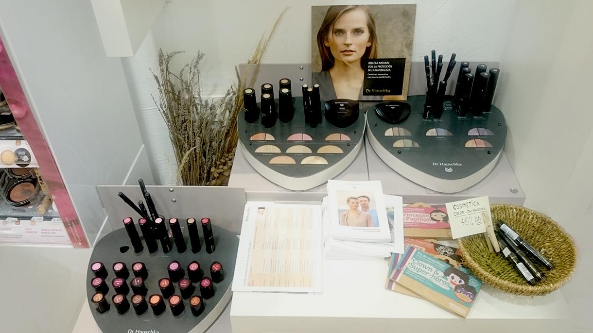 Dr Haushka cosmetica ecologica sección en premdan ecoespacio