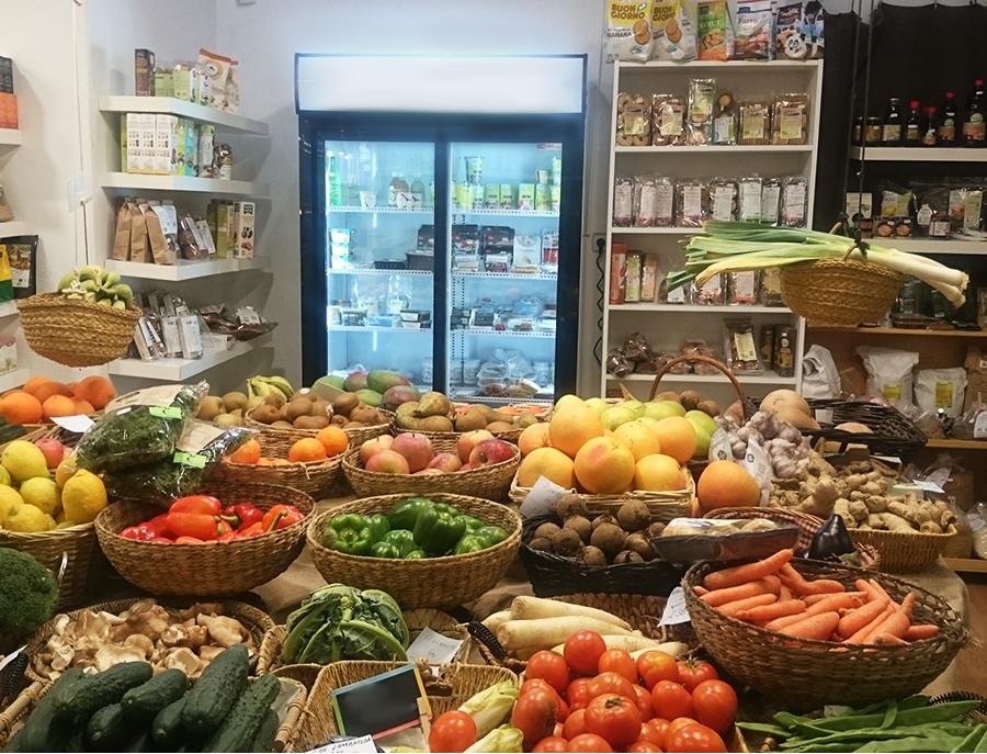 ecoespacio, ecotienda premdan, articulos ecologicos, frutas y verduras organizas