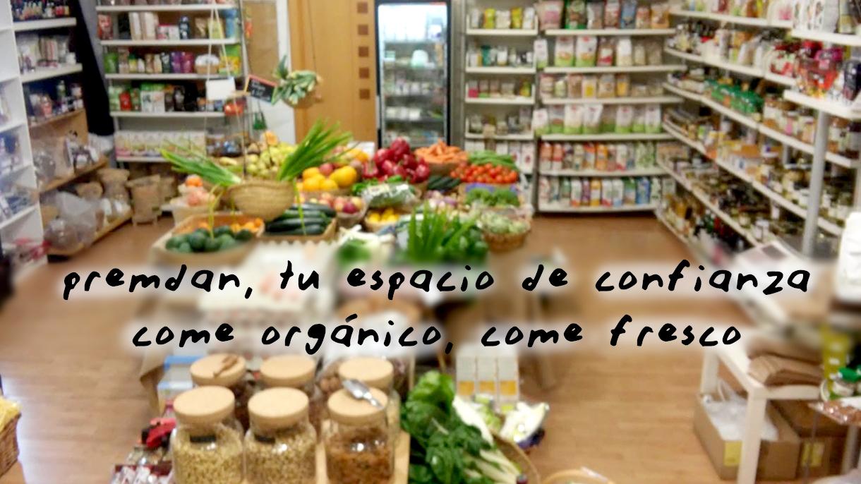 alimentos, alimentacion ecologica en premdan ecoespacio